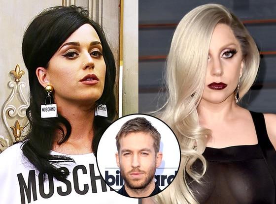 Katy Perry, Lady Gaga, Calvin Harris