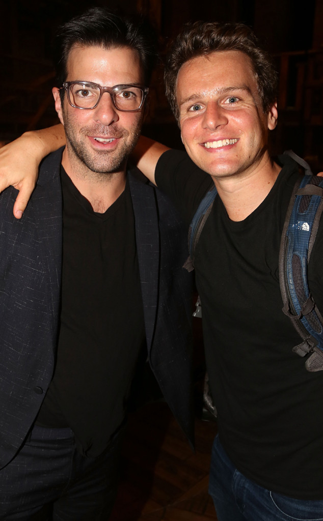 Zachary Quinto, Jonathan Groff