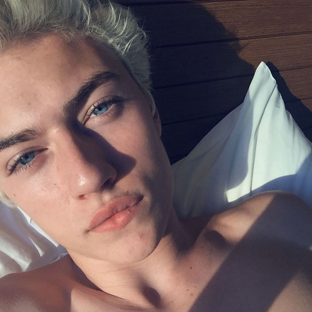 Lucky Blue Smith, Instagram