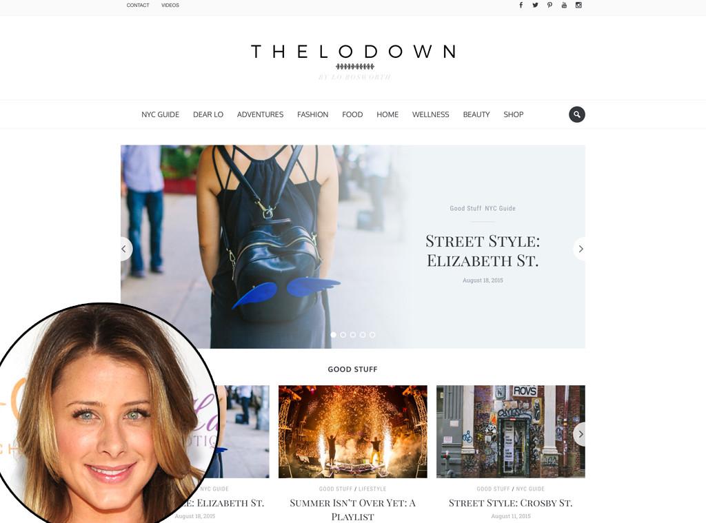 photos celebs with their lifestyle sites fashion blogs