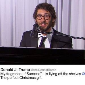 Josh Groban, Donald Trump Tweets