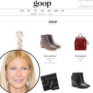 Gwyneth Paltrow, Goop, Lifestyle Sites