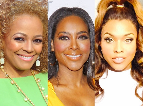 Kim Fields, Kenya Moore, Amiyah Scott