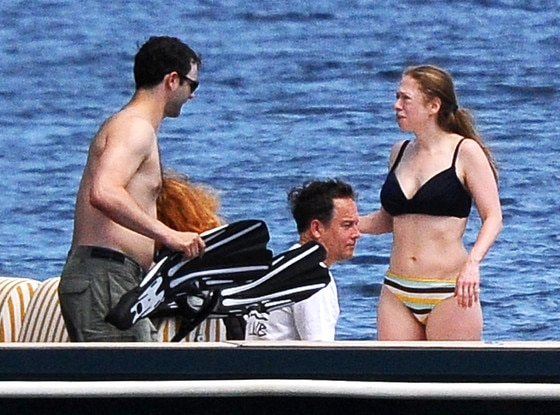 Chelsea clinton fotos de bikini