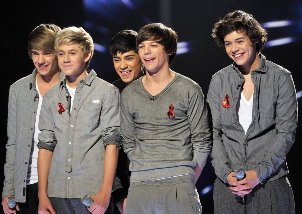 x factor competition meet one direction