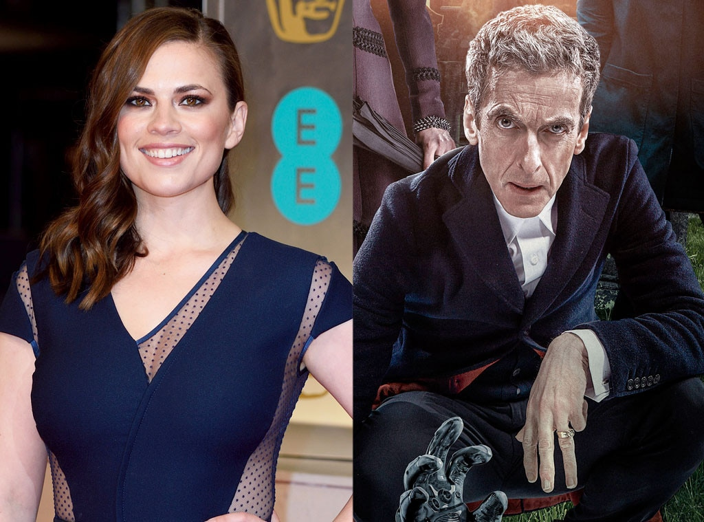 Hayley Atwell, Peter Capaldi, Doctor Who