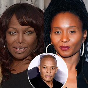 Michel'le Toussaint, Dr. Dre, Dee Barnes