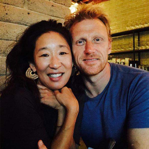 Sandra Oh, Kevin Mckidd, Twitter