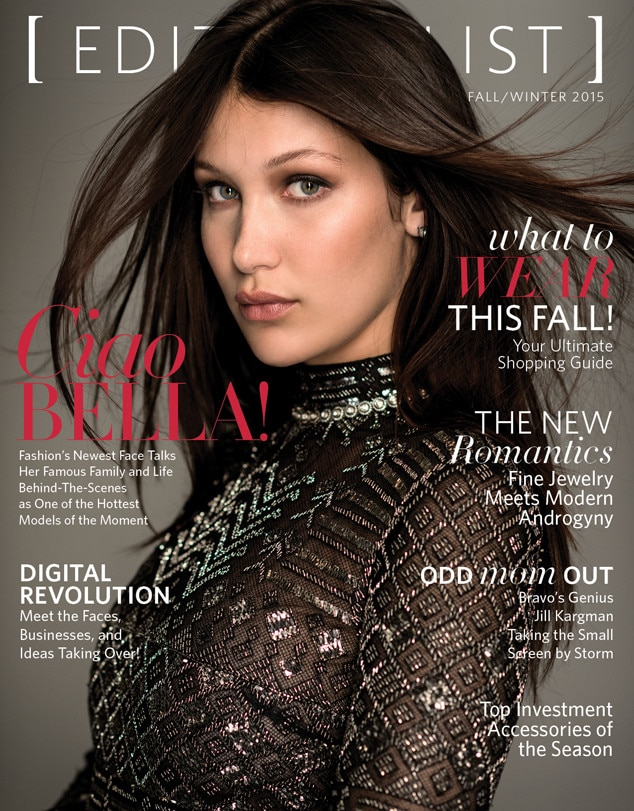 Bella Hadid, Editorialist