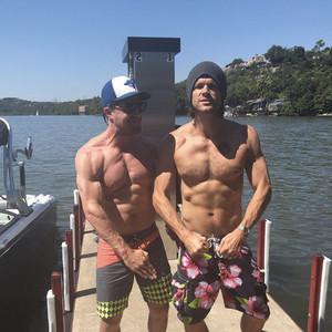 Stephen Amell, Jared Padalecki, Instagram