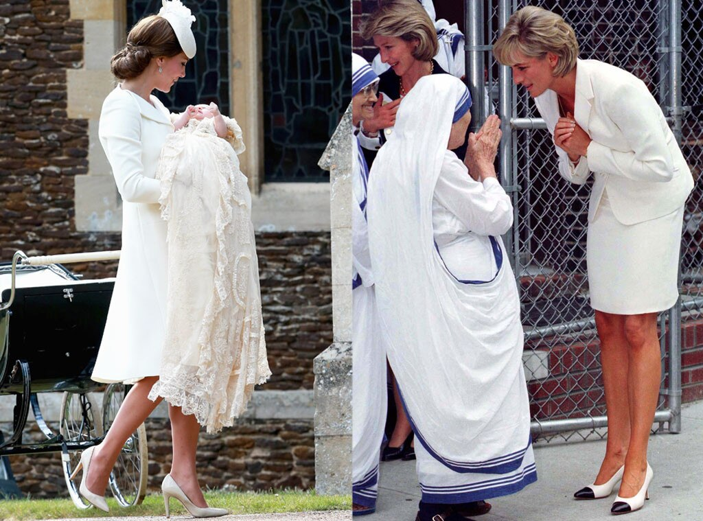 Catherine, Duchess of Cambridge, Kate Middleton, Princess Charlotte of Cambridge, Mother Teresa, Princess Diana