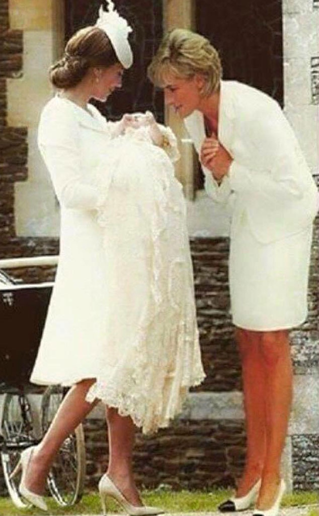 Catherine, Duchess of Cambridge, Kate Middleton, Princess Charlotte of Cambridge, Princess Diana, Photoshopped Image