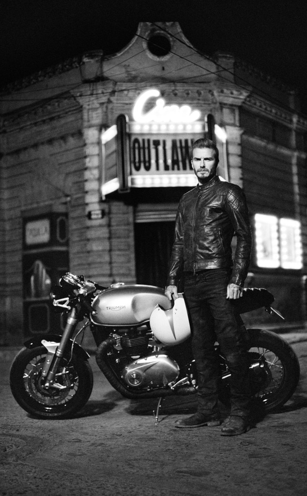 David Beckham, Belstaff Films