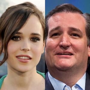 Ted Cruz, Ellen Page