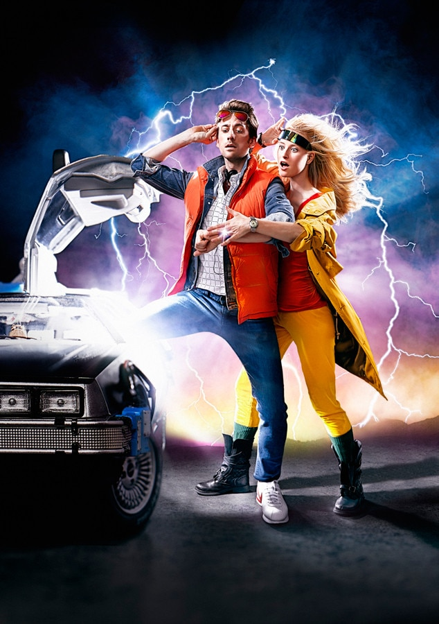 Back to the Future, Engagement photo