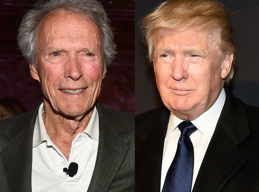 Clint Eastwood, Donald Trump