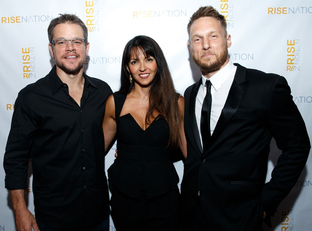 Jason Walsh, Matt Damon, Luciana Barroso