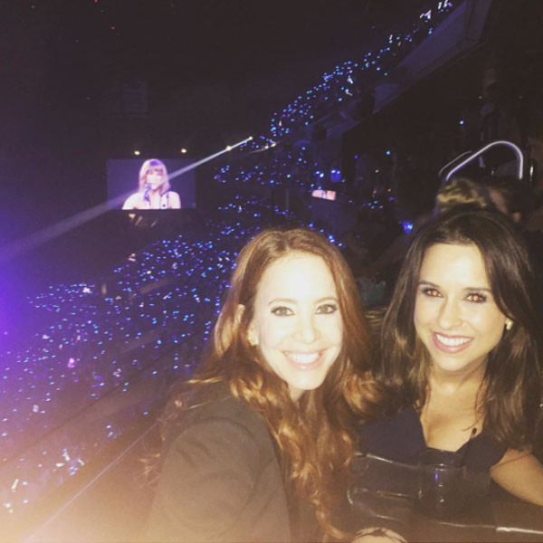 Amy Davidson, Lacey Chabert, Taylor Swift Concert, Instagram