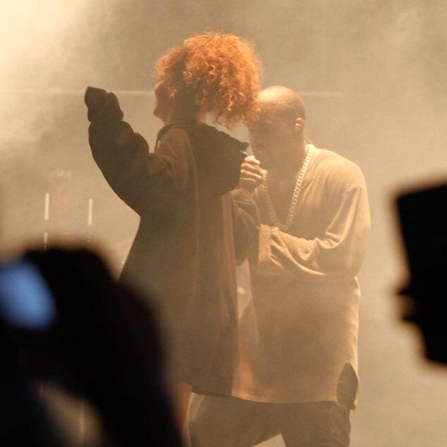 Kanye West, Rihanna, FYF Fest 2015