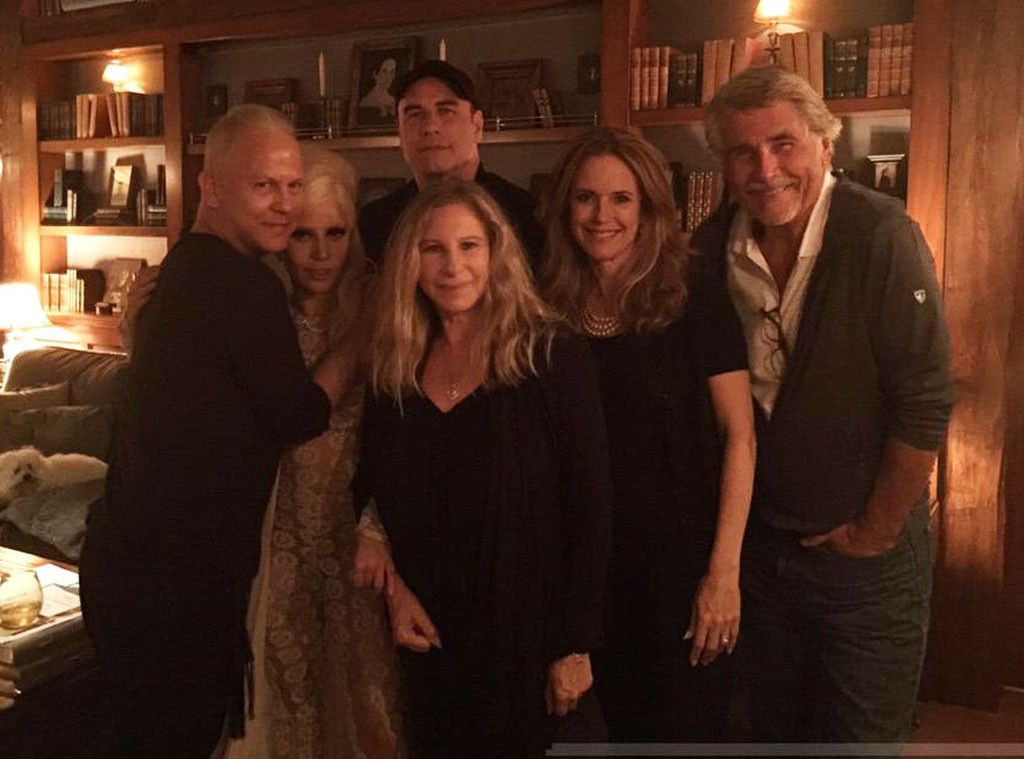 Barbra Streisand, Lady Gaga, John Travolta, Twitter