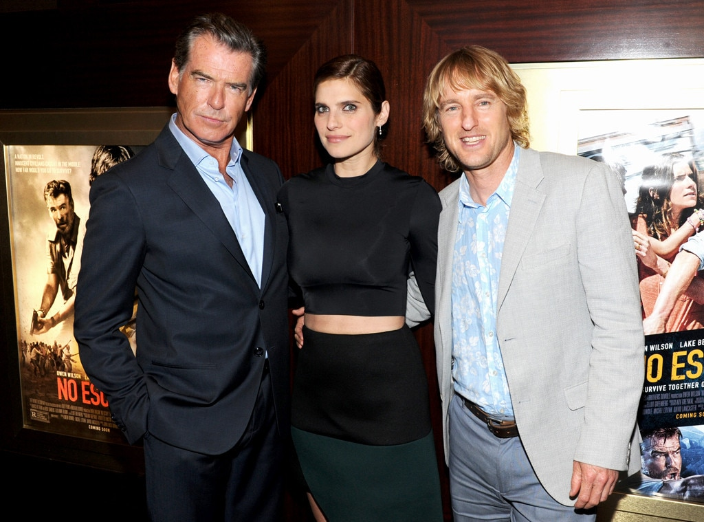 Pierce Brosnan, Lake Bell, Owen Wilson