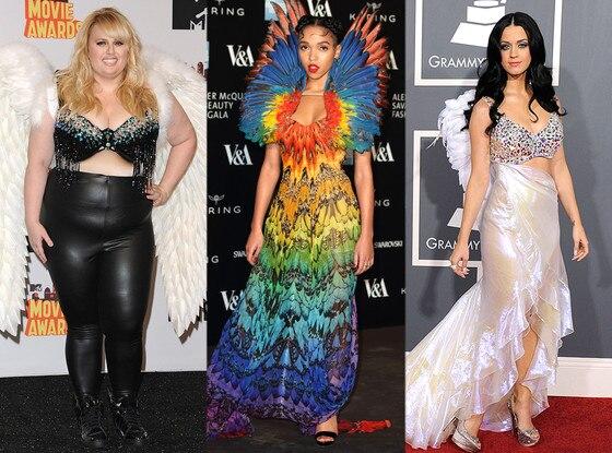 FKA Twigs, Katy Perry, Rebel Wilson, Wings