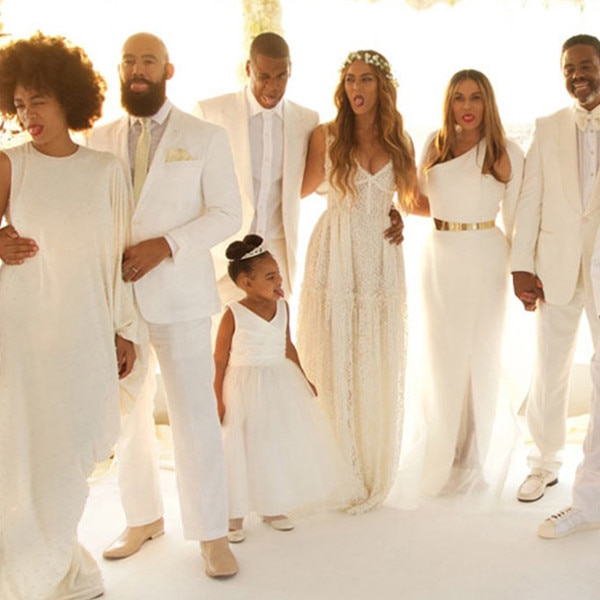 Beyonce, Jay-Z, Blue Ivy, Wedding