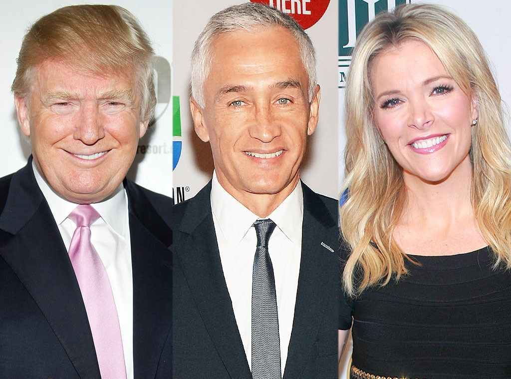 Donald Trump, Jorge Ramos, Megyn Kelly