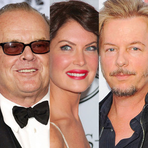 Jack Nicholson, Lara Flynn Boyle, David Spade