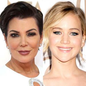 Kris Jenner, Jennifer Lawrence