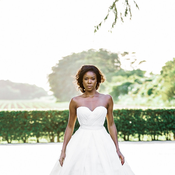 Gabrielle union wedding dress designer wedding dress gabrielle union from celeb wedding dresses e news junglespirit Images