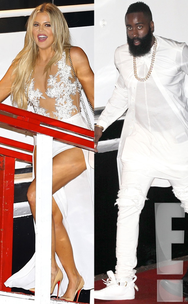 James Harden, Birthday Party, Khloe Kardashian