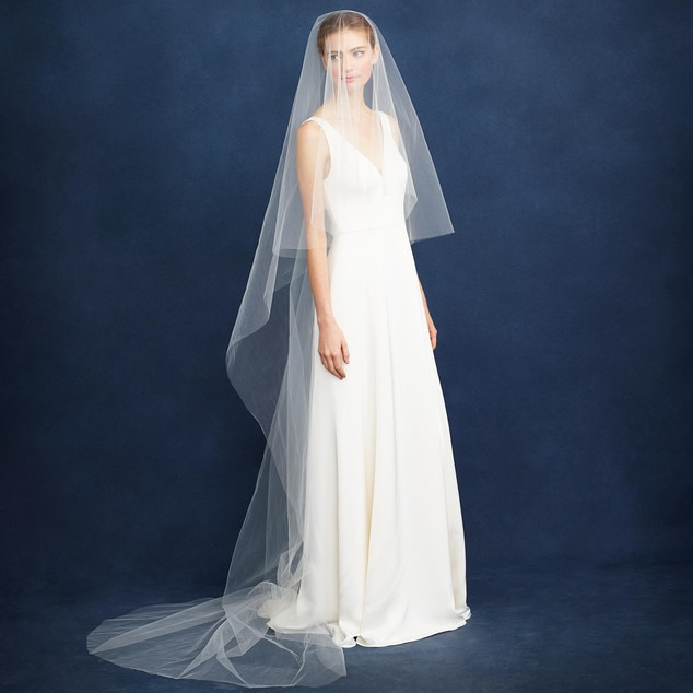 J Crew Jennifer Aniston Wedding Veils