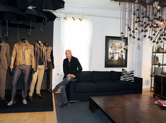 Trendsetters at Work, John Varvatos