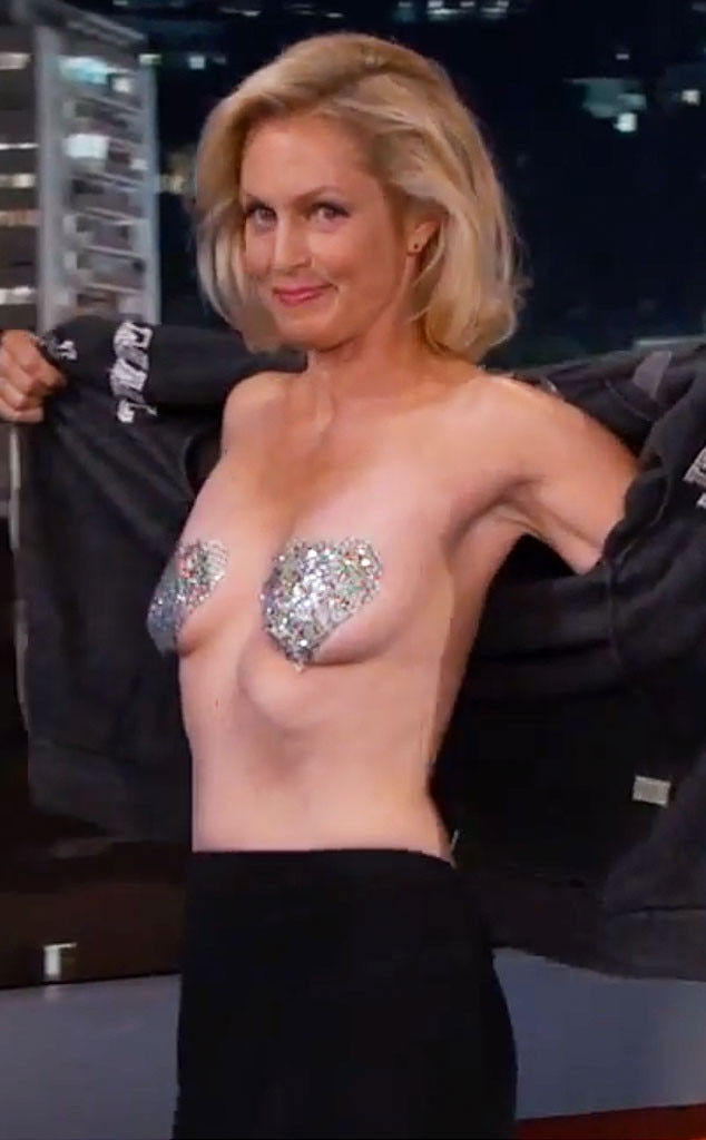 flashing boob s