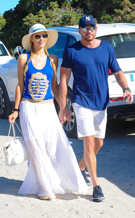 Paris Hilton, Thomas Gross