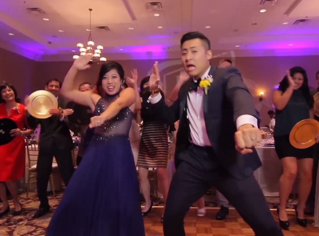 Epic One-Take Wedding Dance Video