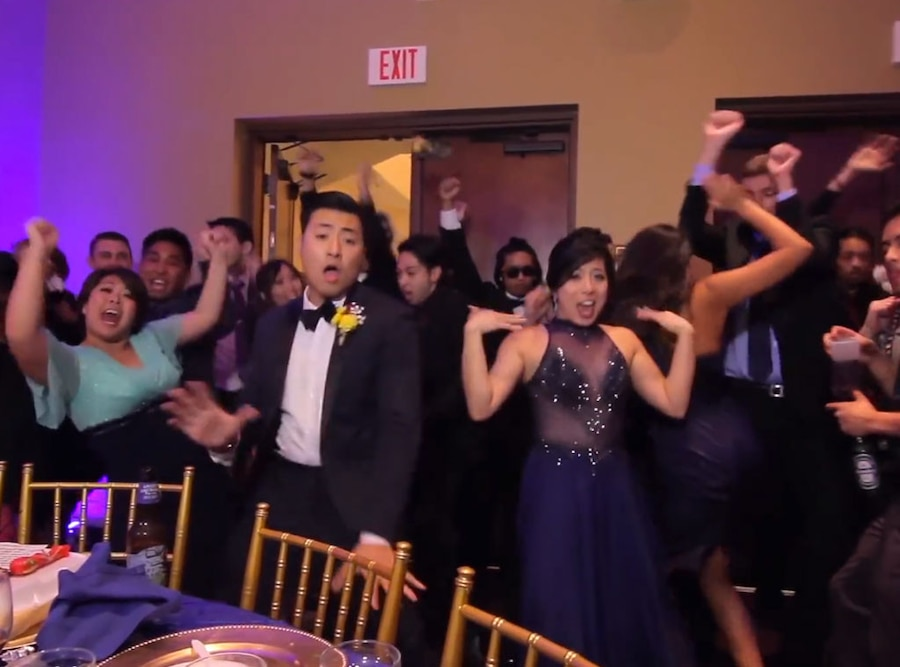 Epic One Take Wedding Dance Video