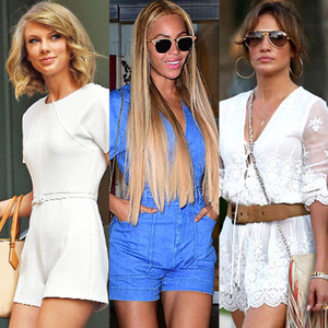 Taylor Swift, Beyonce, Jennifer Lopez, Summer Trends