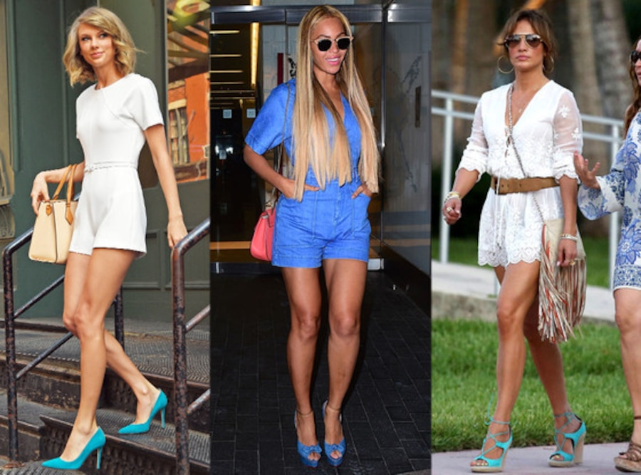 Taylor Swift, Beyonce, Jennifer Lopez, Summer Trends