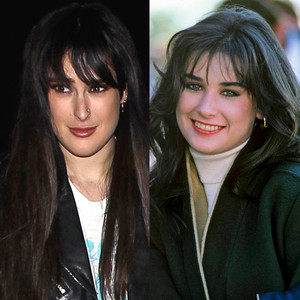 Rumer Willis, Demi Moore