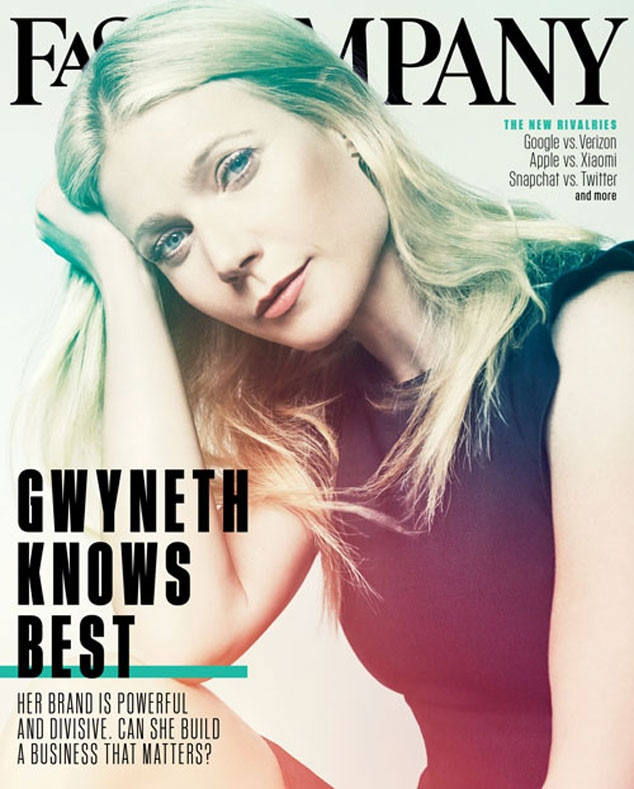 Gwyneth Paltrow, Fast Company Magazine