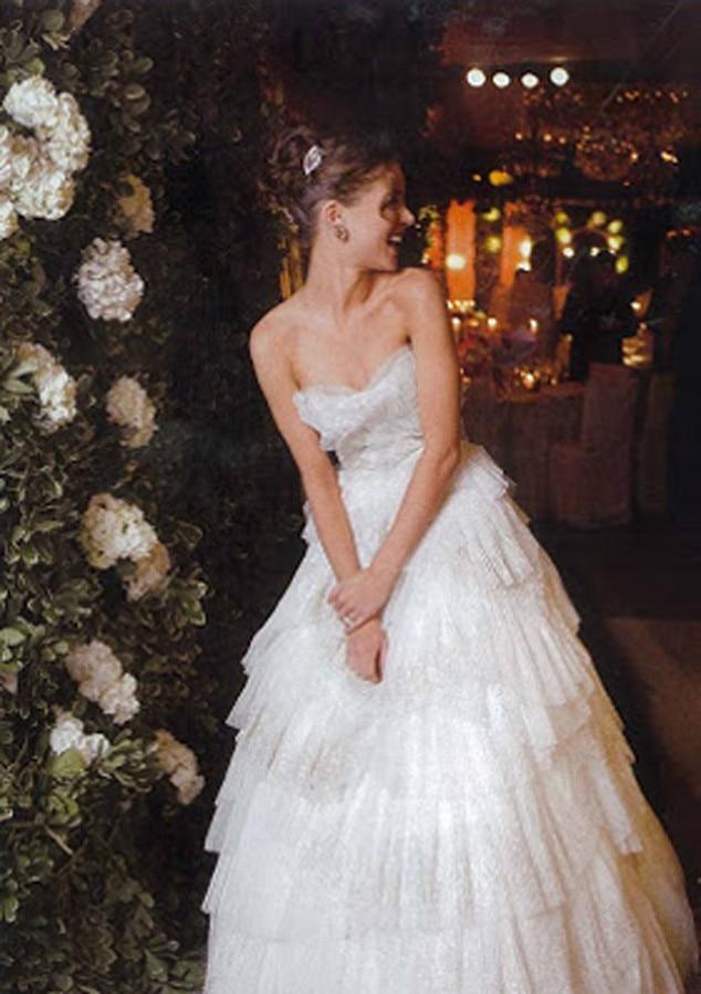 celebrity wedding dress designers share photos of their With georgina chapman wedding dress