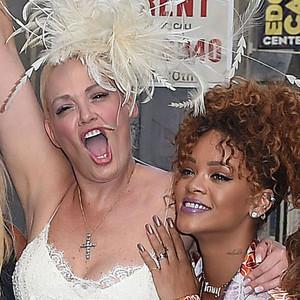 Rihanna, Stylist Sonya Benson