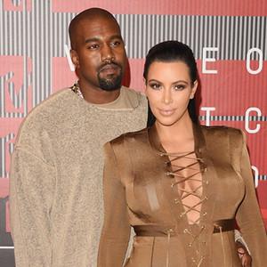 Kim Kardashian, Kanye West, 2015 MTV Video Music Awards, VMA