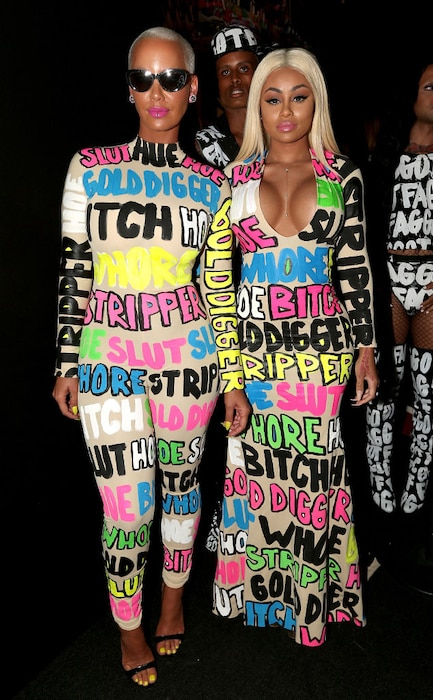 Amber Rose, Blac Chyna, 2015 MTV Video Music Awards, VMA, Worst Dressed