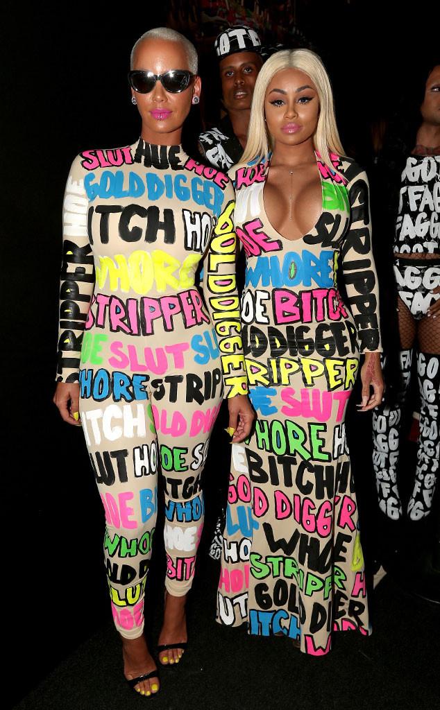 Amber Rose, Blac Chyna, 2015 MTV Video Music Awards, VMA, Worst Dressed