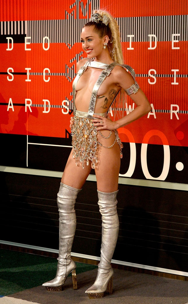 Miley Cyrus, 2015 MTV Video Music Awards, VMA, Worst Dressed