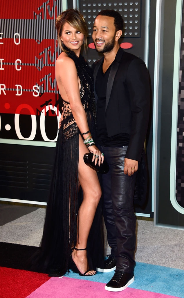 Chrissy Teigen, John Legend, 2015 MTV Video Music Awards, VMA