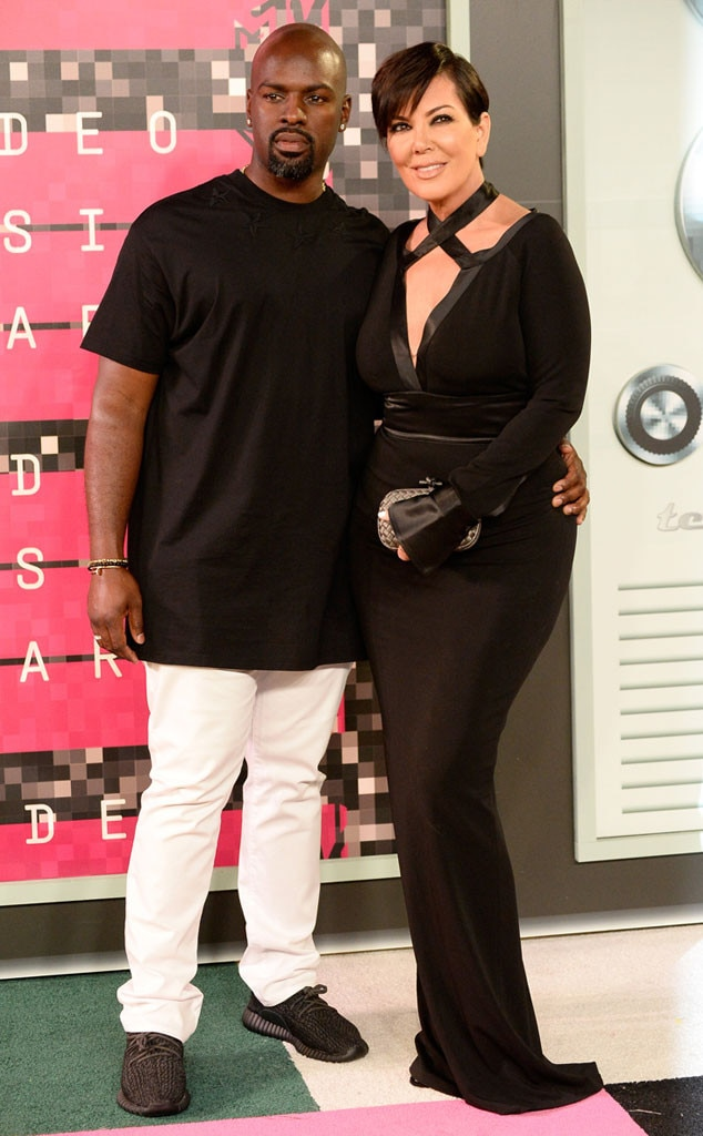 Corey Gamble, Kris Jenner, 2015 MTV Video Music Awards, VMA